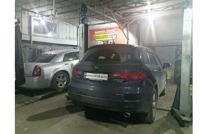 Удаление катализаторов Acura RDX 2.3 turbo, замена на пламегасители
