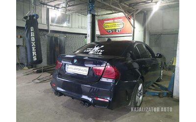 Тюнинг звука выхлопа BMW E90 3 series 3.0