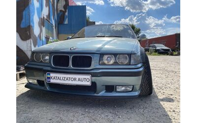 Тюнинг выхлопа с прострелами, чип тюнинг BMW E36 2.5