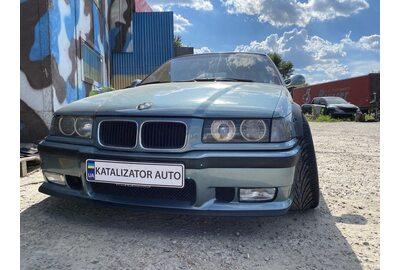 Тюнинг выхлопа с прострелами (etbir), чип тюнинг BMW E36 2.5 (Киев)>