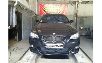 Тюнинг звука BMW Е60 2.5, 2008, раздвоение выхлопа