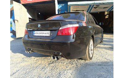 Тюнинг выхлопной системы BMW E60, 2.5, 2008