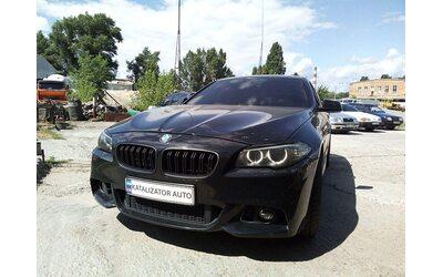Тюнинг звука выхлопа BMW F10 5-series 3.0, 2010 г.в.