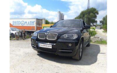 Удаление катализаторов BMW X5 3.0, 2010