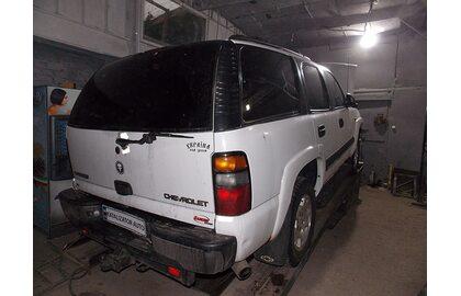 Удаление катализаторов Chevrolet Tahoe 5.2 2008, замена на пламегасители