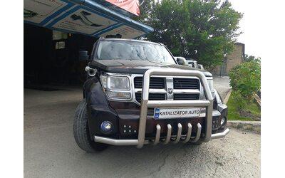 Удаление катализаторов Dodge Nitro 3.7, 2007