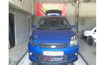 Тюнинг выхлопа Fiat Fiesta ST 2.0 t (раздвоение, установка клапана)