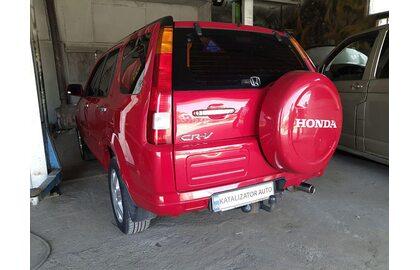 Удаление катализатора Honda CR-V 2.0, 2006