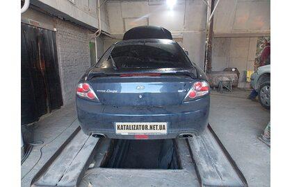Удаление катализатора, замена гофры, чип-тюнинг Hyundai Coupe 2.0, 2008