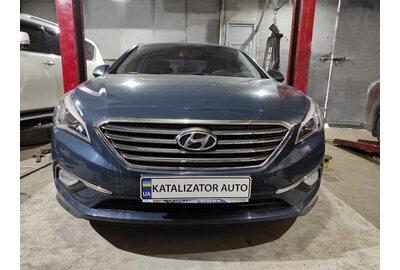 Ремонт глушителя Hyundai Sonata 2.0 lpi, 2017 г (Киев)>