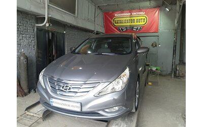 Тюнинг звука выхлопа Hyundai Sonata 2.4, 2013