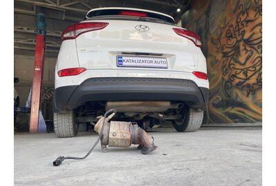 Замена катализатора Hyundai Tucson 2105 (Киев)>