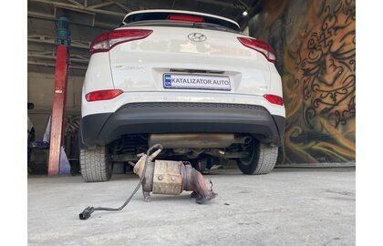 Замена катализатора Hyundai Tucson 2105