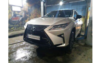 Установка активной системы выхлопа Ix-sound на Lexus RX T220, 2018