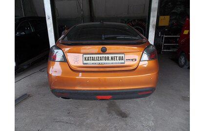 Ремонт, тюнинг выхлопной системы MG turbo, 2008