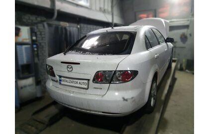 Отключение и удаление сажевого фильтра Mazda 6