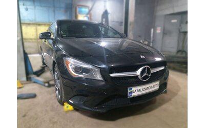 Тюнинг звука выхлопа Mercedes CLA 250, 2.0, 2014