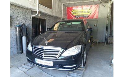 Тюнинг звука выхлопа Mercedes S600 (добавление звука)