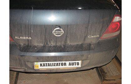 Замена катализатора Nissan Almera