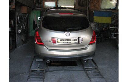 Реставрация, ремонт глушителя Nissan Murano, 3.5