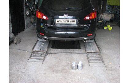 Замена катализаторов, замена гофр Nissan Murano 3.5