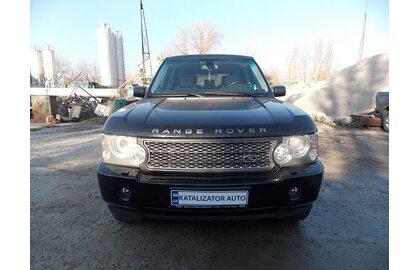 Замена основных катализаторов Range Rover Super Charge 4.2, 2010