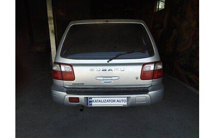 Удаление катализатора, замена на пламегаситель Subaru Forester 2001, 2.0 t