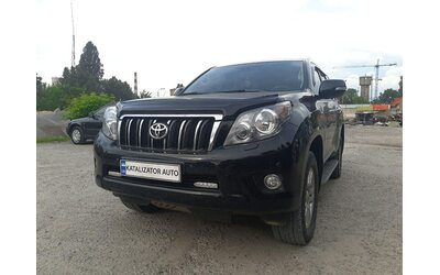 Удаление катализаторов Toyota Land Cruiser Prado 150, 4.0, 2016