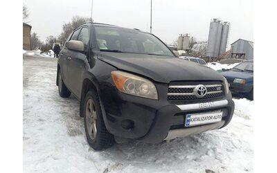 Удаление катализаторов Toyota RAV4. 3.5 2006, построение глушителя