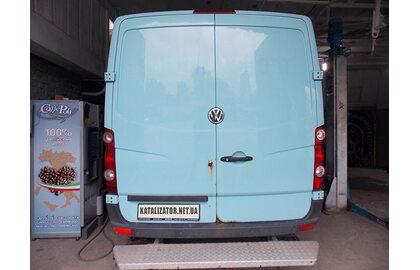 Отключение и удаление сажевого фильтра, изготовление стронгера Volkswagen Crafter 2008