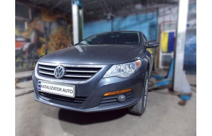 Удаление катализатора, замена на пламегаситель Volkswagen Passat СС 2.0 t