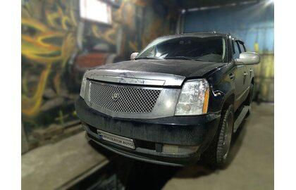 Удаление катализаторов Cadillac Escalade, перепрошивка под евро 2, чип тюнинг