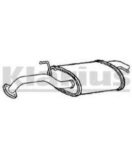 Глушитель Hyundai Elantra