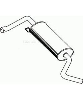 Глушитель Fiat Linea
