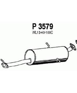 Глушитель Mazda B-series