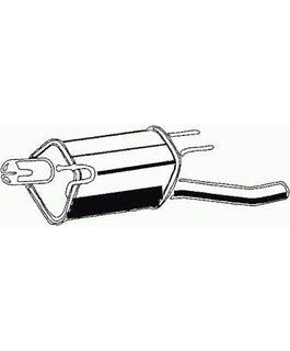 Глушитель Opel Combo