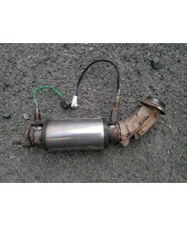Замена катализатора Suzuki Vitara на пламегаситель